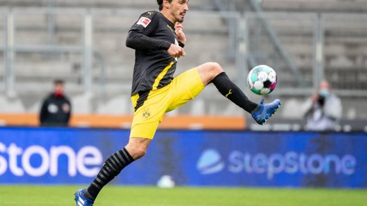 Goalgetter statt Verteidiger: Mats Hummels schiesst den BVB in der Bundesliga mit einer Doublette zum Sieg