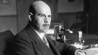 Walther Rathenau auf einer undatierten Aufnahme.Keystone
