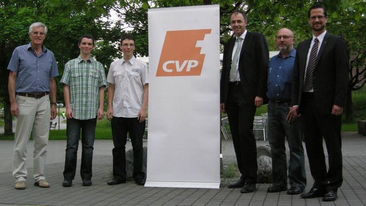 Zu Gast Nationalrat Christophe Darbellay, Parteipräsident CVP Schweiz