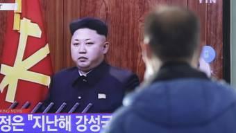Kim Jong Uns Ansprache wird im südkoreanischen TV thematisiert