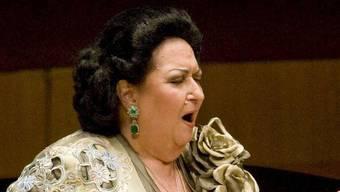Die spanische Opernsängerin Montserrat Caballé legt eine Pause ein (Archiv)
