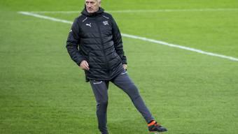 Das Schweizer Nationalteam (im Bild Nationaltrainer Vladimir Petkovic) belegt weiterhin den 8. Rang im FIFA-Ranking