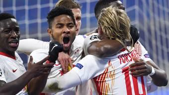 RB Leipzig dreht zu Hause das Spiel gegen PSG dank einer starken zweiten Halbzeit.
