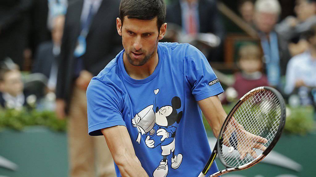 Novak Djokovic spielt heute gegen Andy Murray um seinen ersten French-Open-Titel