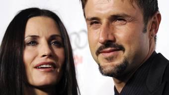 Hatten im November 2010 ihre Trennung bekanntgegeben: Courteney Cox und David Arquette (Archiv)