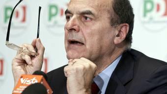Pier Luigi Bersani will ein Minimal-Programm vorstellen (Archiv)