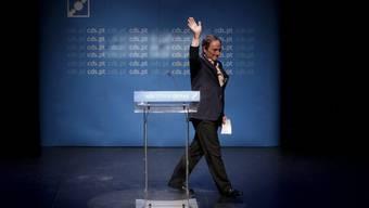 Portugals Aussenminister Paulo Portas tritt zurück (Archiv)