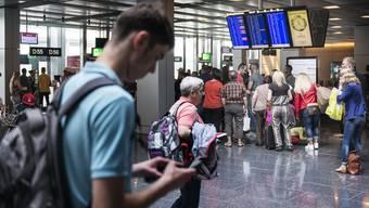 Der 25-Jährige war schon auf dem Weg auf seinen Flug nach Istanbul. (Symbolbild)