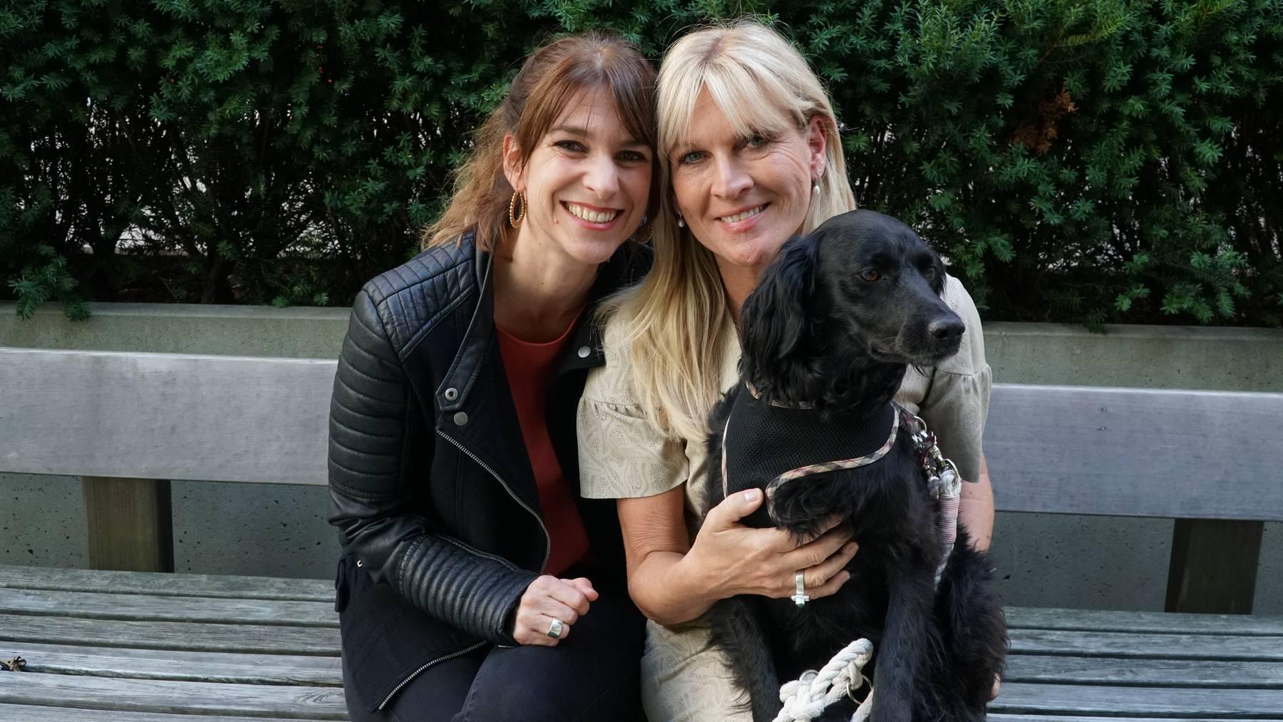Sharon Zucker mit Patricia Boser und Daisy