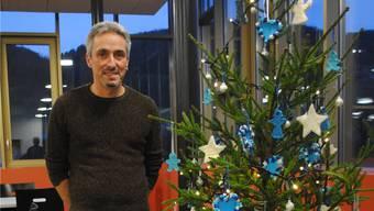 Dirk Maier, Leiter Wohnen-Ateliers, spürt in den Tagen vor Weihnachten eine besinnliche Stimmung in der Stiftung MBF. nbo
