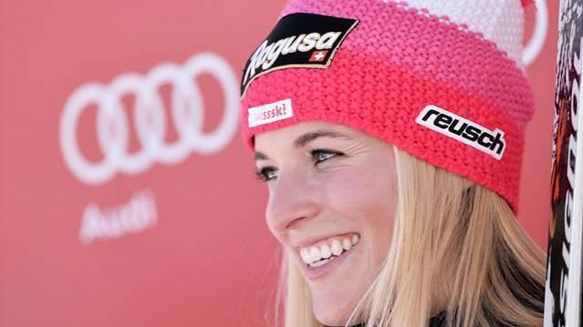 Lara Gut verpasst Podest, übernimmt aber Führung im Weltcup