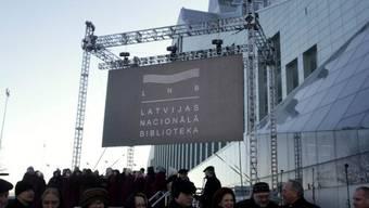 Neue Nationalbibliothek in Riga eröffnet