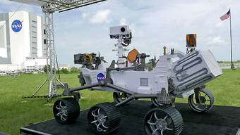 """Die US-Raumfahrtbehörde Nasa lanciert heute Donnerstag unter dem Namen """"Perseverance"""" eine ambitionierte Mars-Mission. (Archivbild)"""
