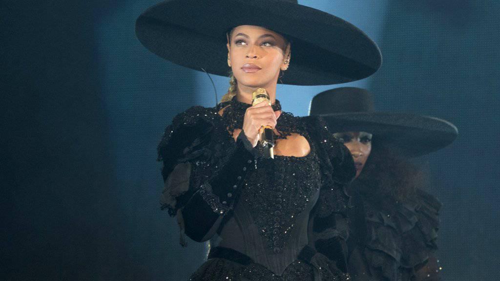Beyoncé gehört zu einer Gruppe Stars, die mit einem Video gegen Polizeigewalt gegen Schwarze in den USA protestieren. (Archivbild)