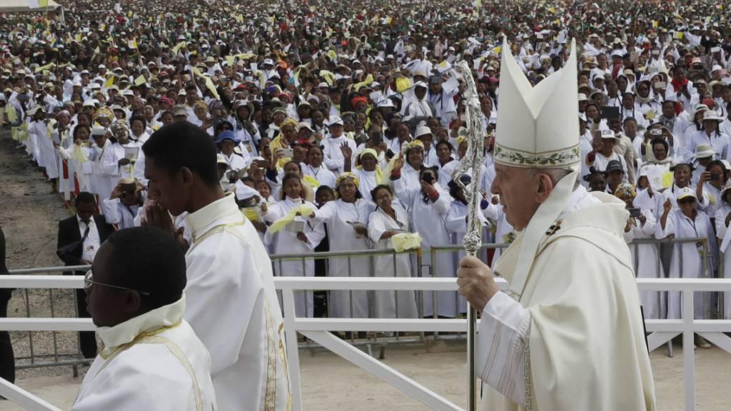 Papst warnt vor Ausgrenzung und Egoismus