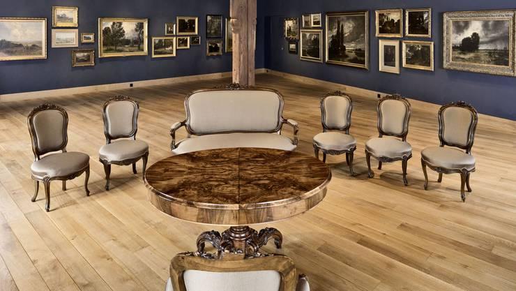 Der Stäblisaal, der dem Landschaftsmaler Adolf Stäbli gewidmet ist, ist das beliebteste Trauungslokal bei den Brautpaaren im Bezirk Brugg.