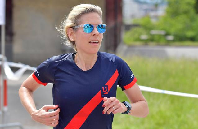 Siegerin des Lenzburger Lauf 2018: Alexandra Schaller.