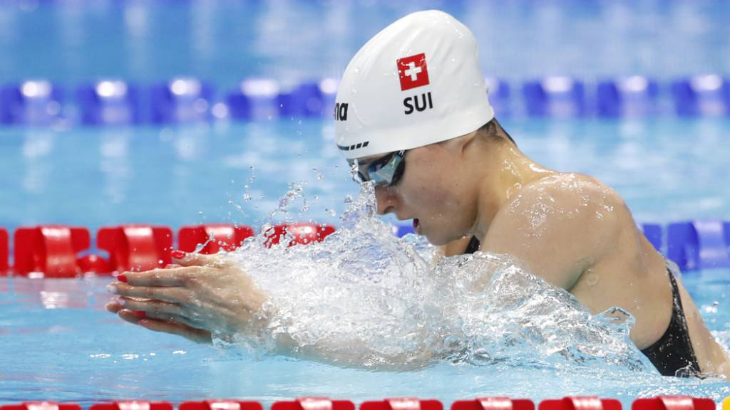 Lisa Mamié Vorlauf-Dritte über 200 m Brust - Mixed-Staffel im Final