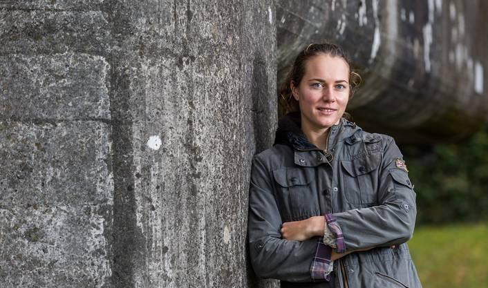 Bekanntestes Gesicht von Leuggern: Tennis-Profi Stefanie Vögele wuchs hier auf.