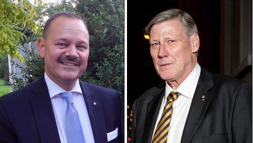 Der FDP-Präsident Bezirk Dietikon Gérald Künzle (links) will falsche Behauptungen von Adrian Leimgrübler (rechts) nicht länger unwidersprochen hinnehmen.