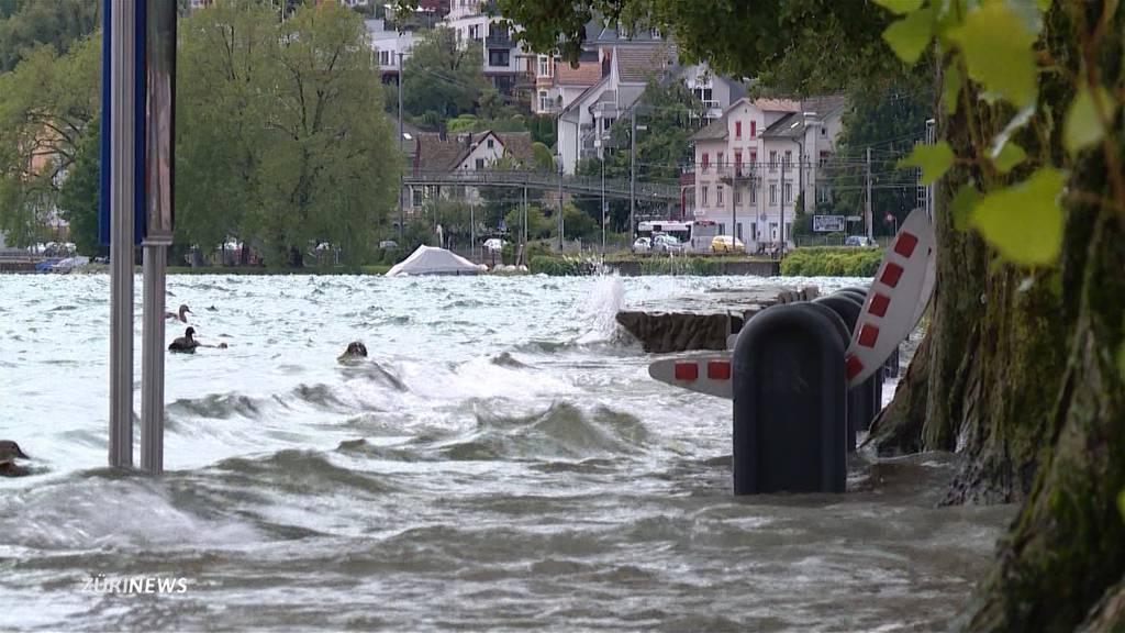 Prekäre Hochwassersituation in Zürich: Sihlsee-Pegel zur Sicherheit abgesenkt