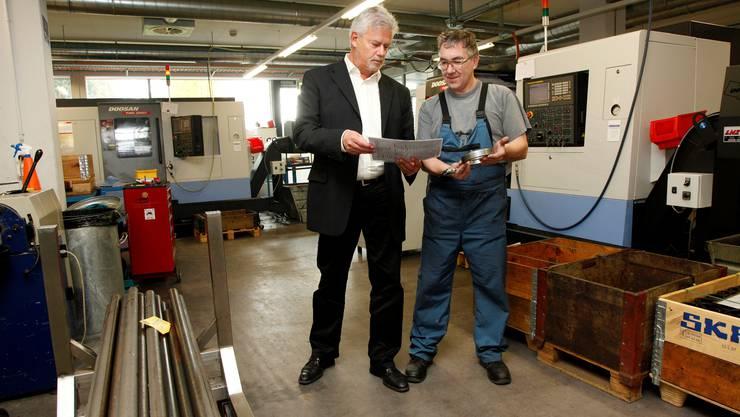 Vebo: Neue Maschinen angeschafft und nun Platzmangel in der Werkstatt.