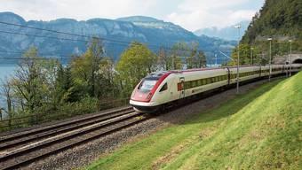 Rasch in den Süden: mit dem Schnellzug ab Rotkreuz. (Bild: zVg/SBB)