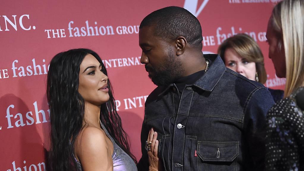 Der Ehemann von Kim Kardashian, Kayne West, hat ein neues Album veröffentlicht. (Archivbild)