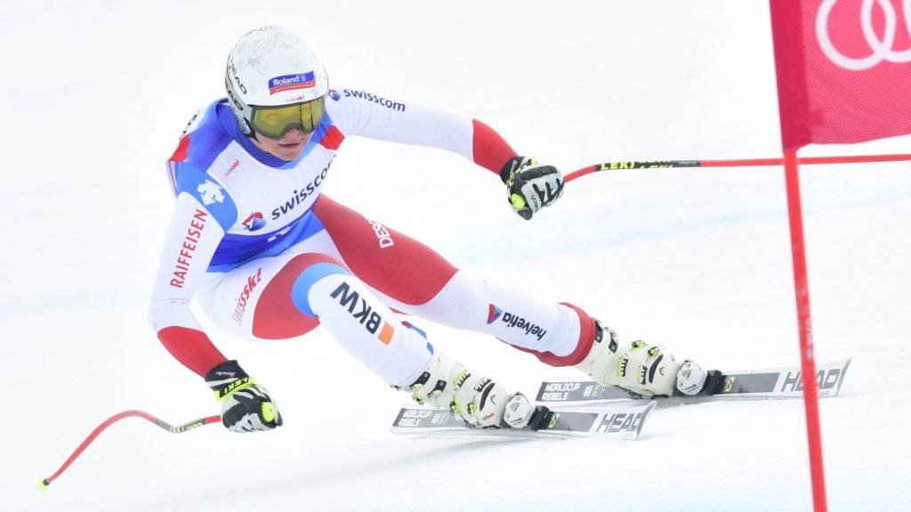 Corinne Suter war der nationalen Konkurrenz deutlich überlegen