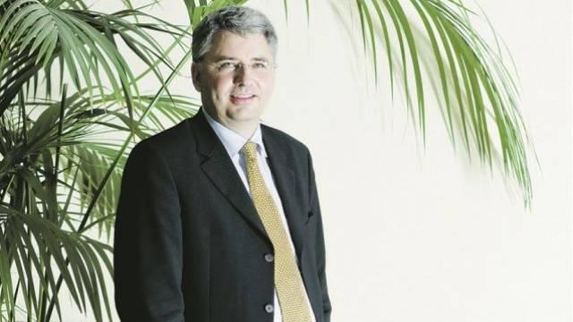 Severin Schwan ist seit 2008 Chef des Basler Pharmakonzerns Roche. Bild: Stefan Bohrer