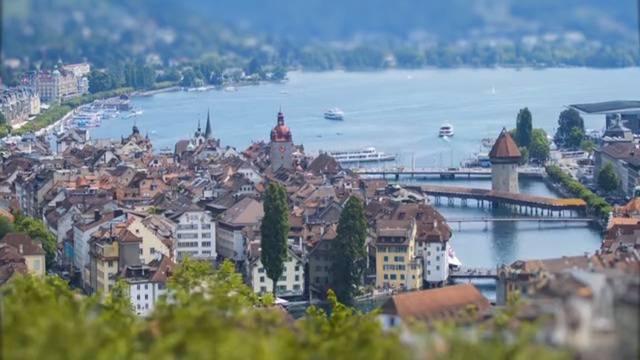 So schön sieht die Schweiz in Miniatur aus