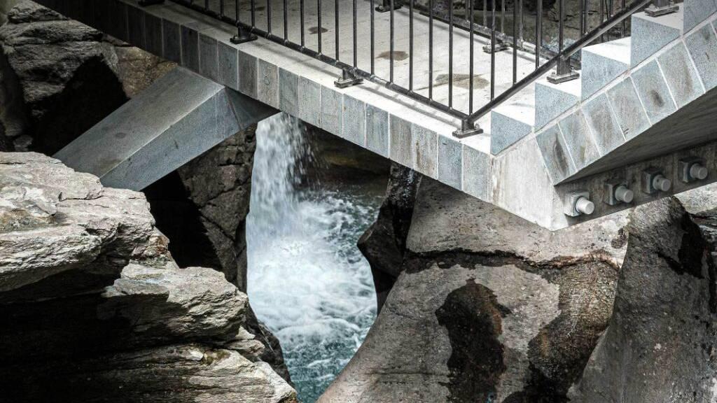 Granit-Weg durch Puschlaver Cavaglia-Schlucht eröffnet