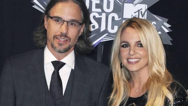 Jason Trawick mit Britney Spears (Archiv)