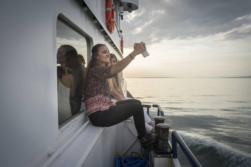 Die Bodensee Schifffahrt bieten ab dem Wochenende wieder Kursschifffahrten an. (Bild: Benjamin Manser, Tagblatt)