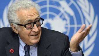 UNO-Vermittler Brahimi wird die Gespräche in Genf leiten (Archiv)