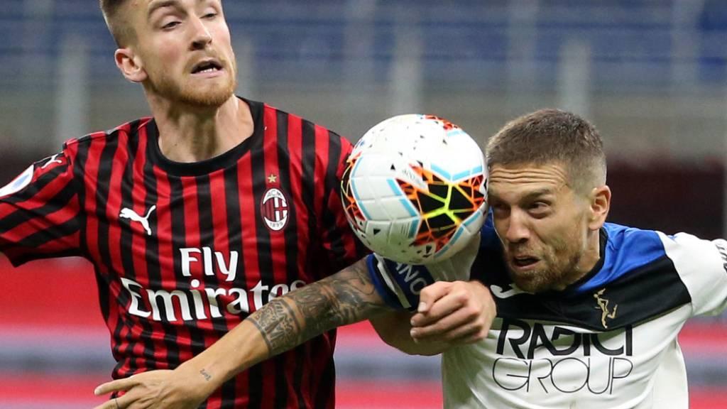 Punktverlust von Atalanta in Mailand