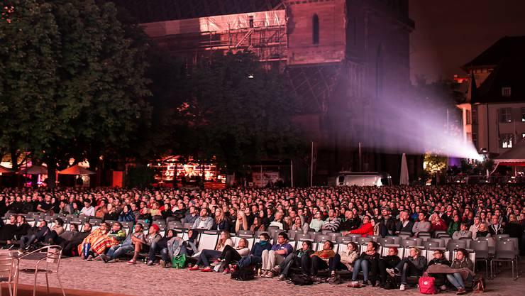Das Orange Cinema auf dem Münsterplatz startet am 7. August.