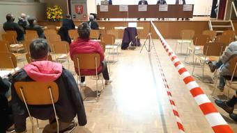 Gemeindeversammlung Menziken vom 4. November 2020