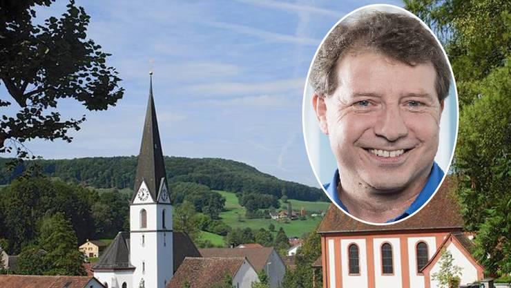 In Zuzgen, dem Dorf mit den zwei markanten Kirchen, «lässt es sich gut leben», ist Daniel Hollinger überzeugt.