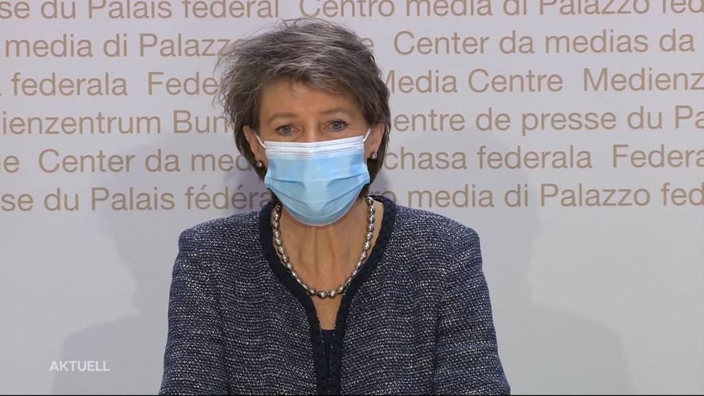 CO2-Gesetzt: Sommaruga startet den Abstimmungskampf