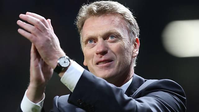 Zufrieden mit der Leistung von Manchester United: David Moyes