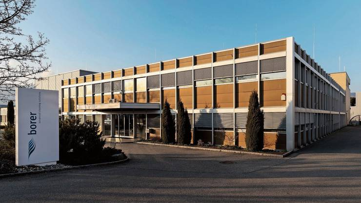 Der Hauptsitz der Borer Chemie AG in Zuchwil. Hier werden seit letztem Sommer auch wieder Handdesinfektionsmittel hergestellt.