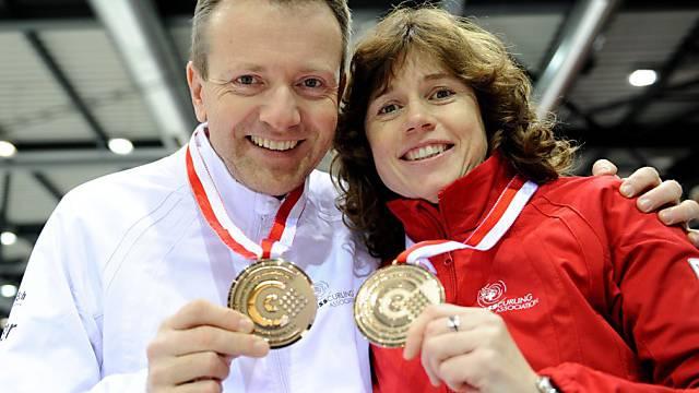 Wie schon an der EM erfolgreich: Christof Schwaller und Mirjam Ott.