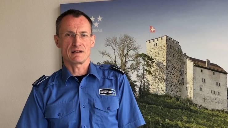 «Wir gehen mit Augenmass vor.» Michael Leupold, Kommandant der Kantonspolizei Aargau.