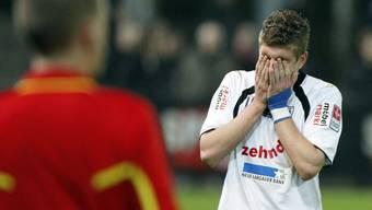 Der FC Aarau droht im Abstiegssumpf der Challenge League zu versinken