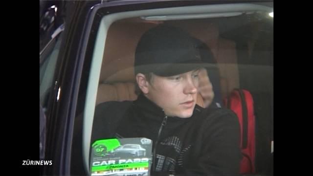 Kimi Räikkönen verursacht Unfall