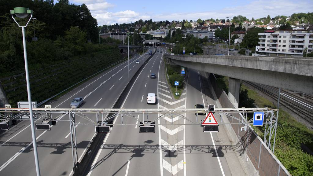 Sperrung der Stadtautobahn während 40 Nächten