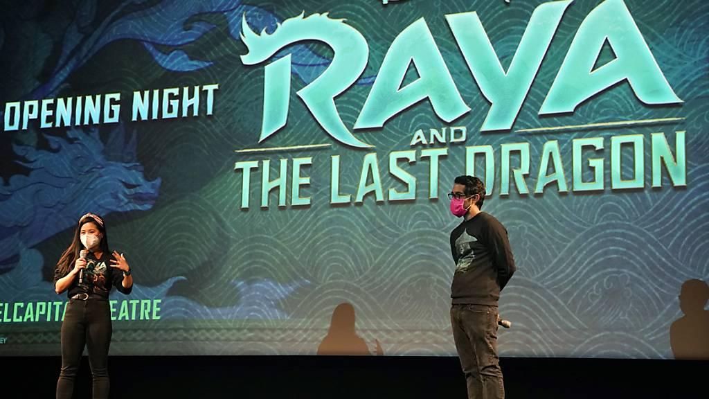 Der Film «Raya und der letzten Drache» ist in diesem Jahr der einzige Blockbuster von Disney geblieben. Er spielte wegen der geschlossenen Kinos in der Corona-Pandemie deutlich weniger ein, als es der Konzern normalerweise gewohnt ist. (Archivbild)