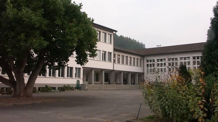 Das Schulareal in Unterkulm