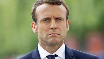 Umfragen gehen von einem grossen Sieg der Partei von Präsident Emmanuel Macron bei den Parlamentswahlen aus (Archiv)
